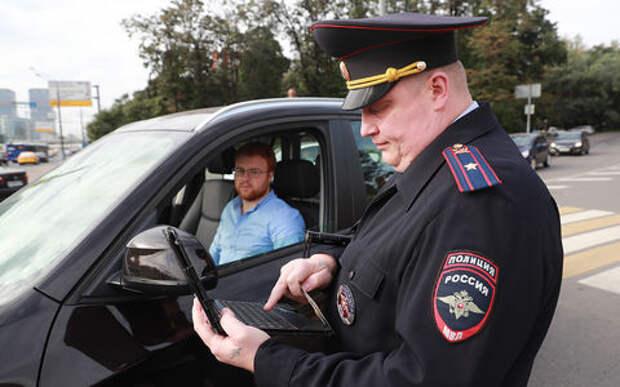 Инспекторы с помощью планшетов смогут определить личность водителя