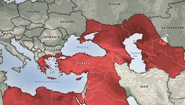 В Крыму посоветовали Турции оставить мечты о южных территориях России