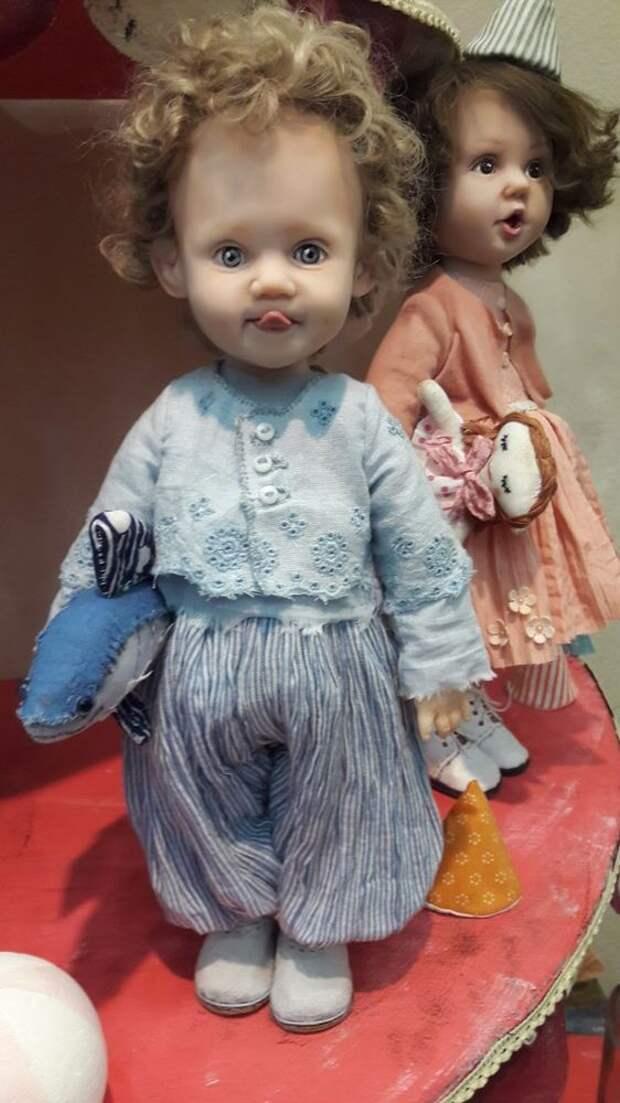 Чудесные куклы с добрыми глазами: для вдохновения 1