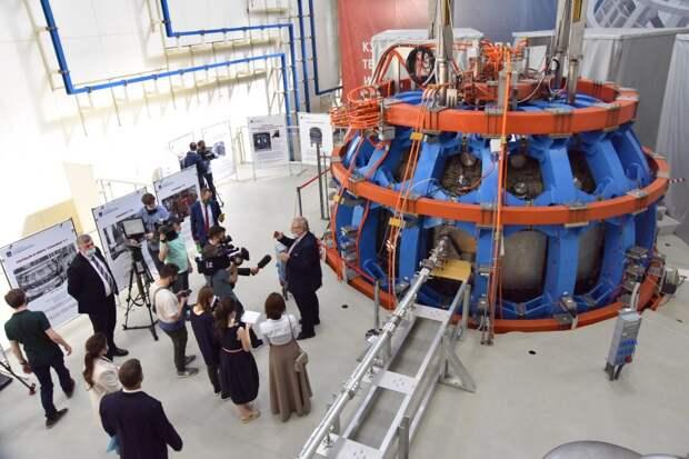 В Курчатовском институте запустили термоядерную установку