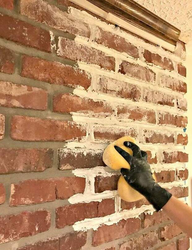 Собрать по кирпичику - оформляем стены в виде кладки