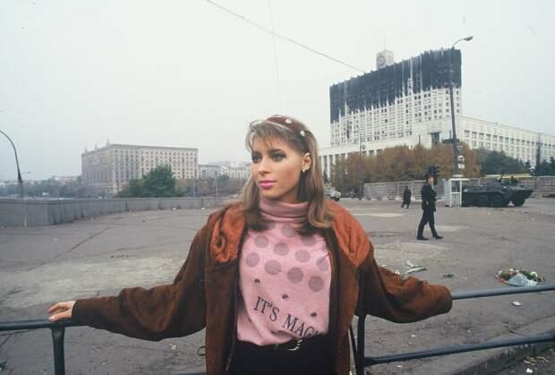 Забавная женская мода из 90-х годов