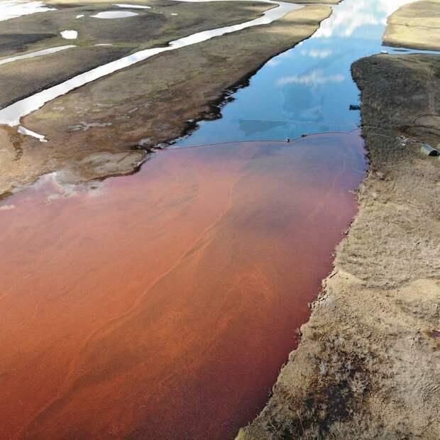 Около 10 млрд рублей уйдет на восстановление территории после разлива топлива в Норильске