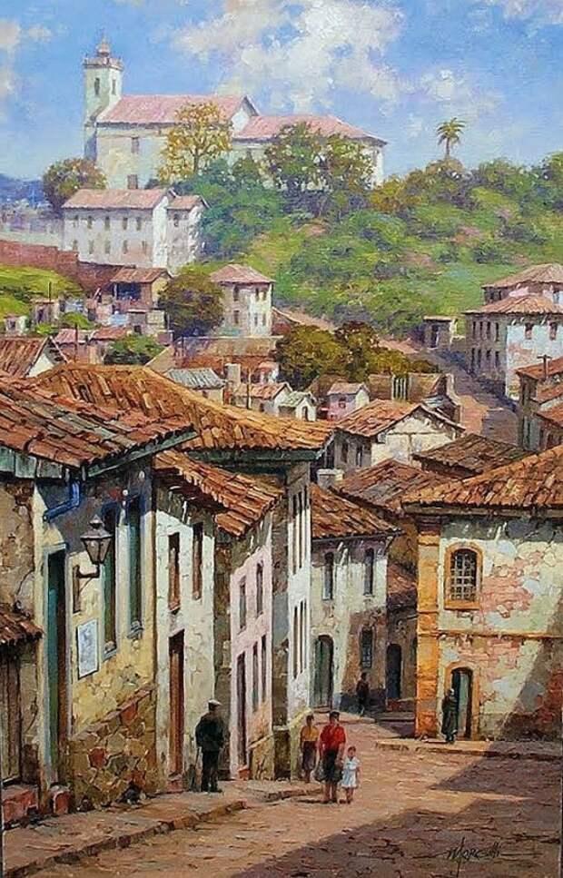 Художник Luis Claudio Morgilli. Однажды, в безумно красивой Бразилии