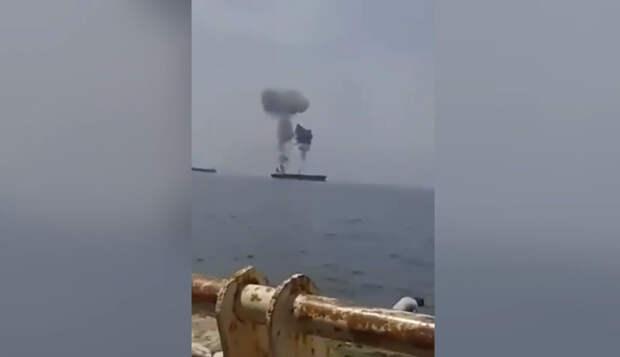 Израиль ни при чем: у берегов Сирии взорвался нефтеналивной танкер