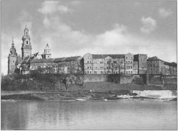Ягеллонский замок перед войной
