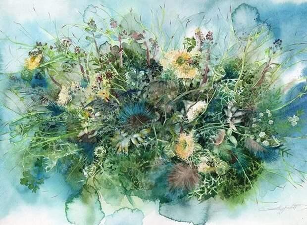 художник Аяко Тсуге (Ayako Tsuge) картины - 07