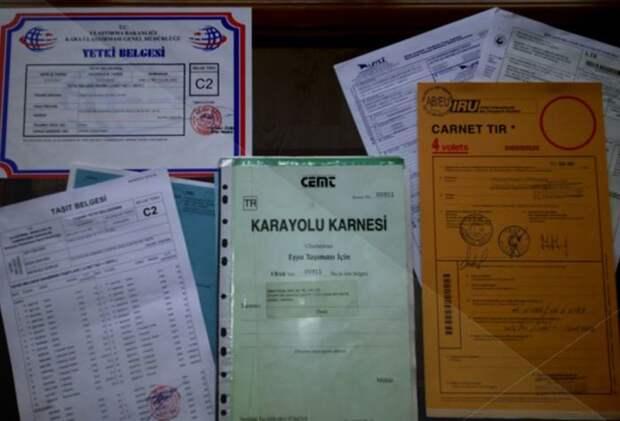 Это просто документы. /Фото: cargolink.ru.