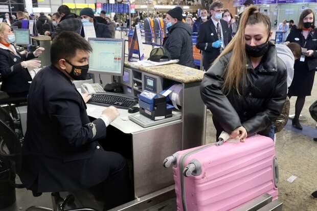 В Минцифре сообщили о планах регистрировать россиян на рейсы без паспорта