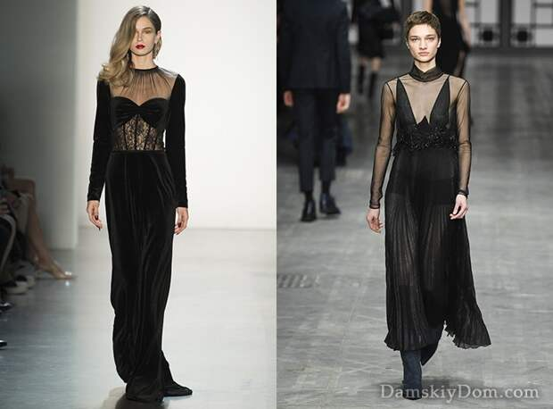 Модные вечерние платья 2019