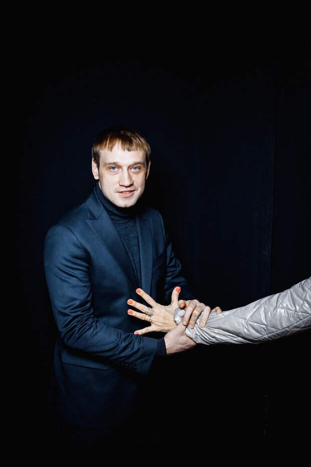 На лошадку говорящую пришли посмотреть: Мария Шалаева, Мария Кожевникова и Алексей Чадов