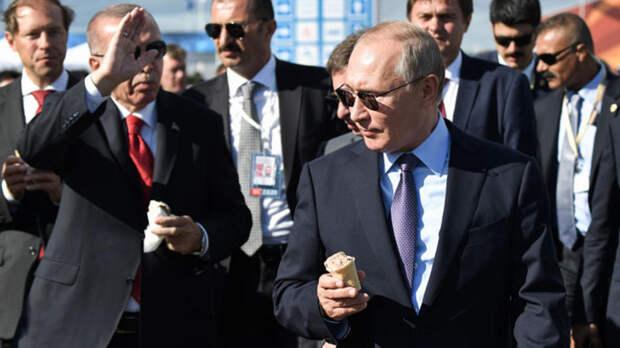 Российское мороженое покорило Китай благодаря Путину