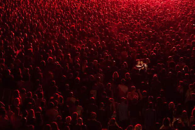 Концертное селфи.