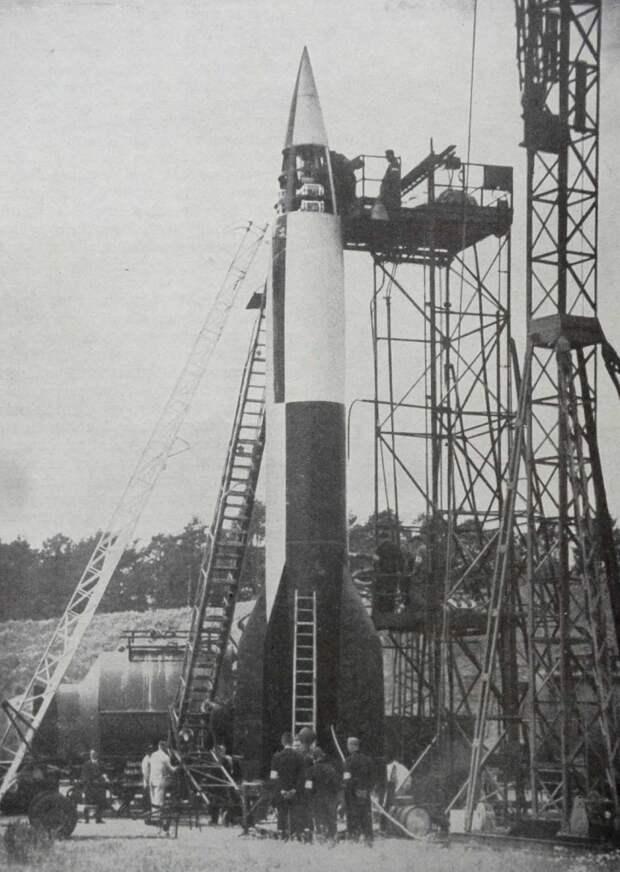 Фау-2 - баллистическая ракета Гитлера