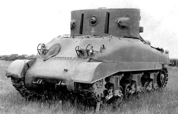 Секретное оружие Второй мировой: танк, который буквально лишал зрения врага на расстоянии 2 км