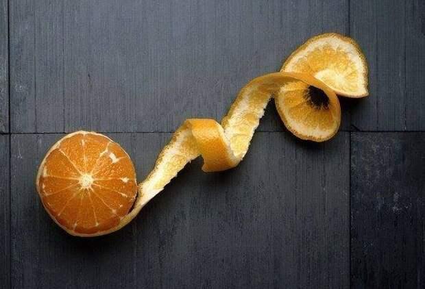 9 Удивительных применений обыкновенной апельсиновой корки