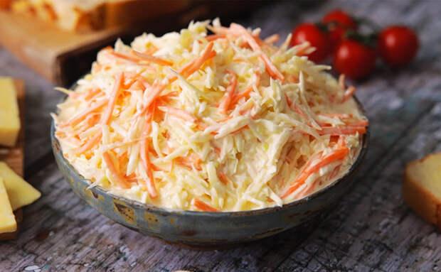 Колслоу: гарнир и салат одновременно. Делаем гарнир, который подают в стейкхаусах