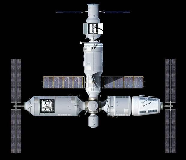 США будут разбираться из-за выхода России из проекта МКС.