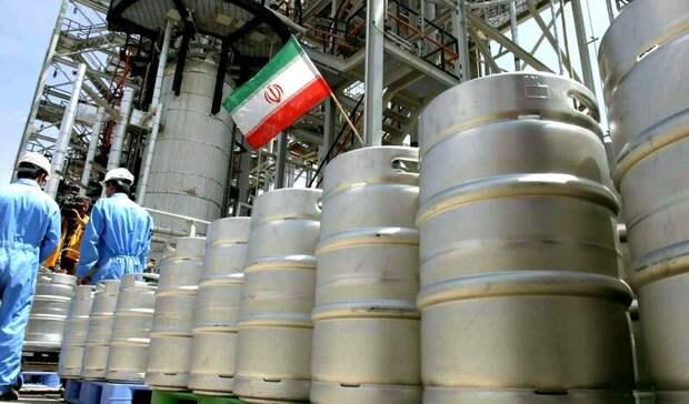 Иран обогатил уран дорекордного уровня завсю историю своей ядерной программы