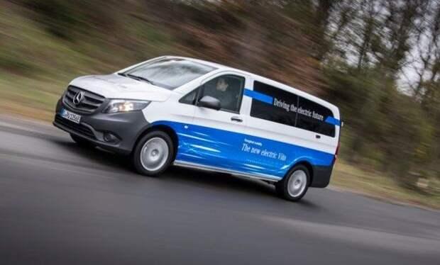 Крупнейшая сделка: Amazon заказал у Mercedes-Benz 1800 электрофургонов