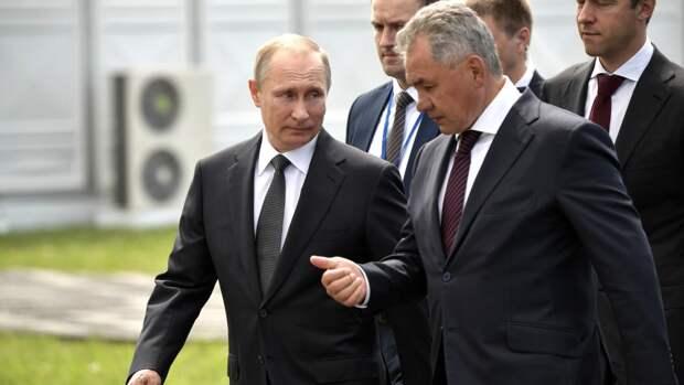 Путин и Шойгу положительно отозвались о параде Победы в Москве