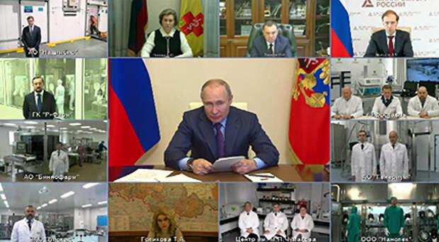 Путин сделает прививку от ковида