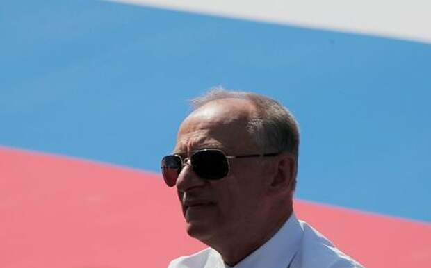 Russia's Security Council Secretary Nikolai Patrushev attends the Victory Day Parade in Red Square in Moscow, Russia June 24, 2020. The military parade, marking the 75th anniversary of the victory over Nazi Germany in World War Two, was scheduled for May 9 but postponed due to the outbreak of the coronavirus disease (COVID-19). REUTERS/Maxim Shemetov