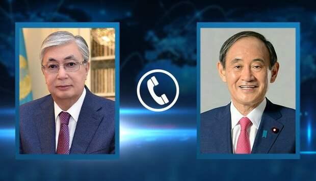 Токаев обсудил с премьер-министром Японии взаимовыгодные перспективы развития