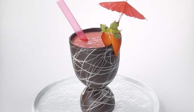 Съедобная посуда из шоколада: украсит любой праздничный стол