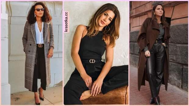 12 стильных вариантов как носить черные брюки, чтобы выглядеть привлекательно