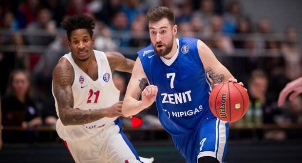 ЦСКА победил «Зенит» в первом полуфинальном матче Единой лиги