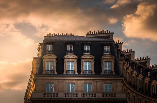 Вечерний Париж, в который нельзя не влюбиться