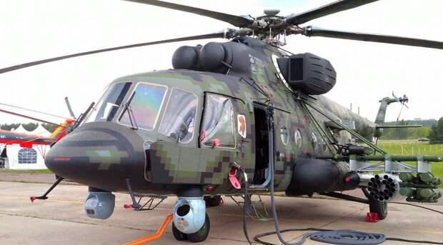Вертолеты спецназа получат дополнительную защиту