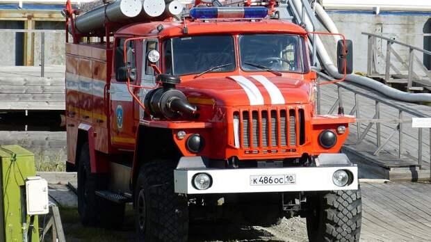 Омские спасатели потушили уничтоживший 25 домов пожар в деревне