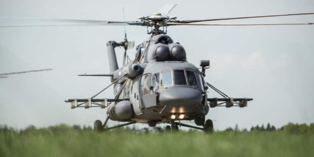 Силач Сергей Агаджанян готовится к новому рекорду по буксировке 40-тонного вертолета