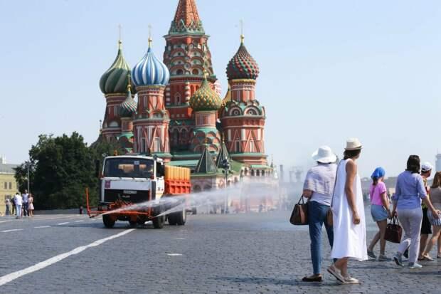 Температурный рекорд 1936 года побит в Москве