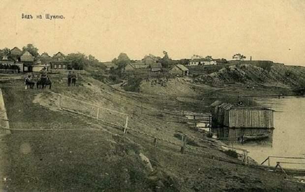 Фото дня: деревня Щукино в начале XX века