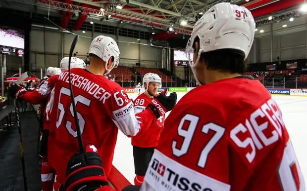 Сборная Швейцарии разгромила Великобританию и обошла Россию в турнирной таблице