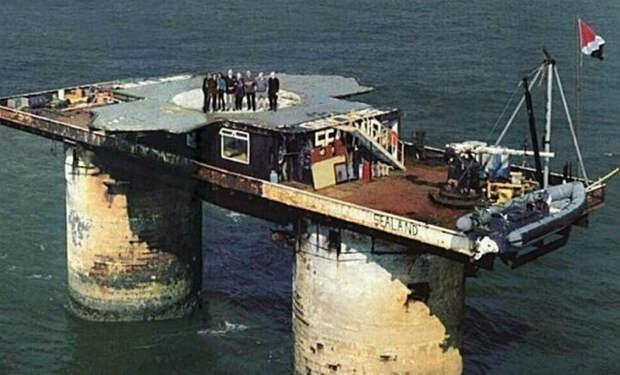 Платформа в океане превратилась в государство