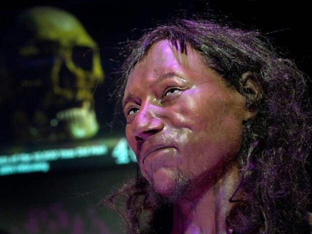 Древнейший житель Британии был чернокожим