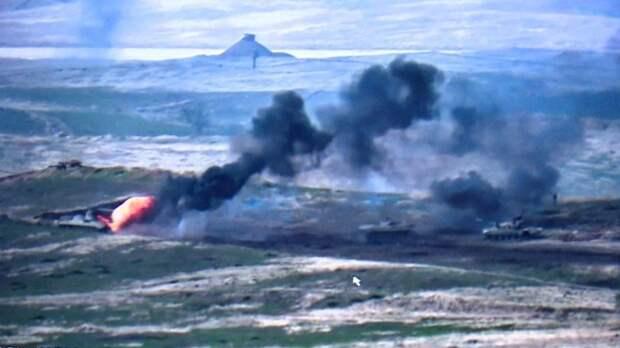 Мощные удары попротивнику: Армия Карабаха уничтожила атакующие силы врага (ВИДЕО)