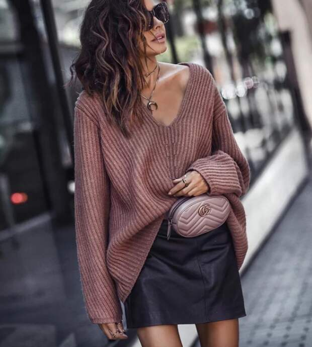Какой свитер выбрать к брюкам и юбкам, чтобы было не только тепло, но и стильно