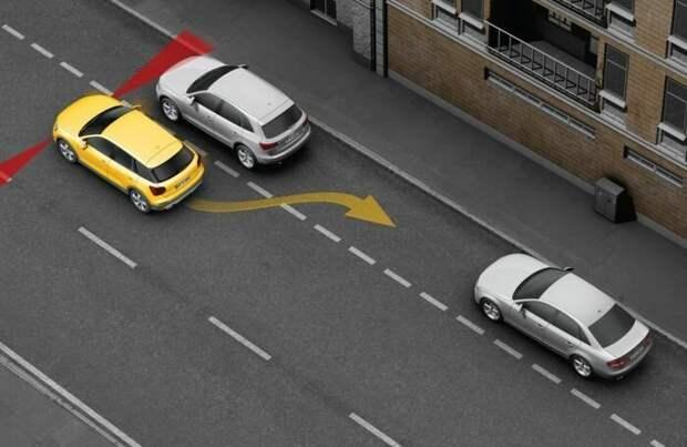 2. Система автоматической парковки #авто, #автопроизводители, #бесполезное
