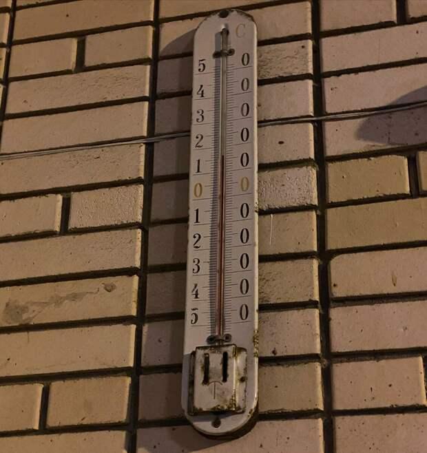 Термометр застоя.