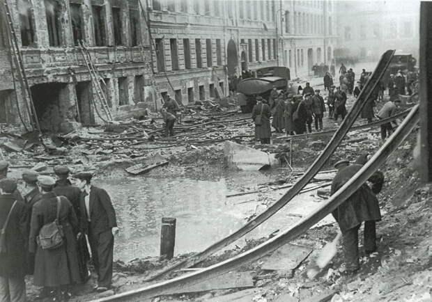 Фашисты готовили Ленинграду участь города, стёртого с лица земли