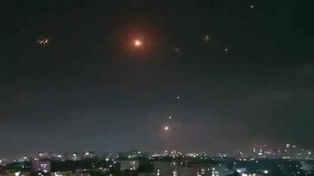 Около 150 ракет запустили из сектора Газа по Израилю