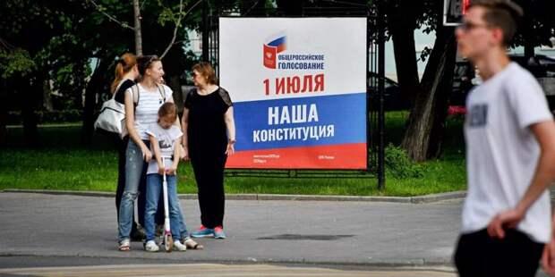 Политолог Павел Данилин отметил легитимность голосования по поправкам в Конституцию. Фото: mos.ru
