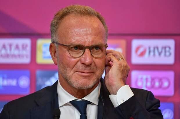 «Бавария» объявила об уходе Румменигге