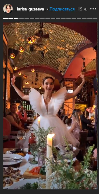 Гузеева с дочерью погуляли на свадьбе звезды сериала «Кармелита»