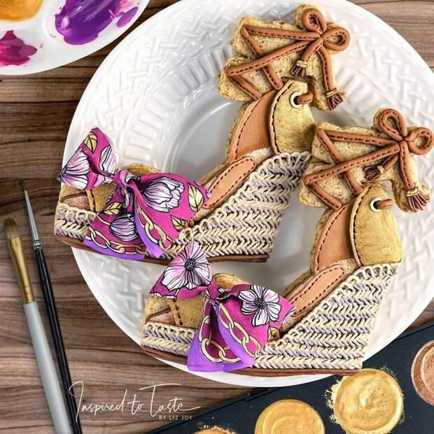 Ее печенье более стильное, чем одежда большинства из нас: 25 кулинарных изысков от «сладкого дизайнера» Лиз Джой, фото № 23